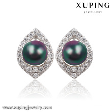 Mode Nice Imitation Poire CZ Diamant Bijoux Boucles d'Oreilles-91596