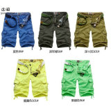 Men's Cargo Fashion Cotton Washed Pocket Casual Shorts