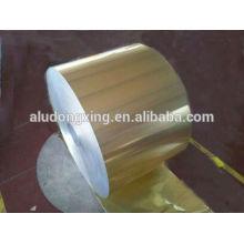 Suavidade e vedação e fechamento Use tampas de alumínio