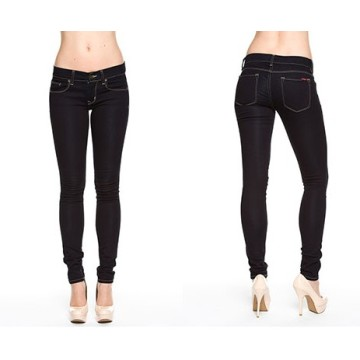 2016 OEM Fashion High Quality Cheapest Price 100% Cotton Denim Skinny Womens Jean Trousers