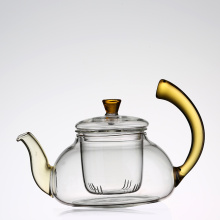 Blooming Flower Tea Set 600ml Glass Teapot / tea pot