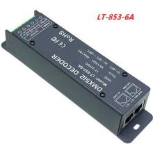 LEDENET 3CH x 6A DMX-PWM Decodificador Tensão Constante Motorista Converter DMX512 Sinal Digital para PWM Signal CV Controller