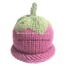New Design moda mão Knit bebê crianças Hat
