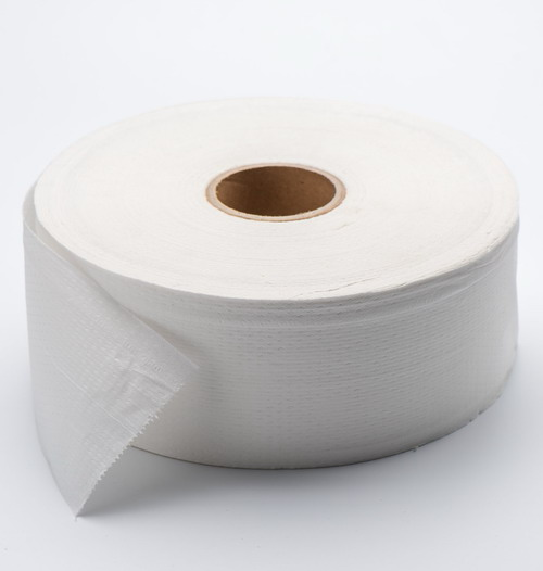 1ply Embossed Sanitary Toilet Paper Jumbo Roll0