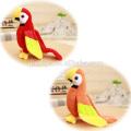 Alta Qualidade Soft Stuffed Papagaios Brinquedos Atacado