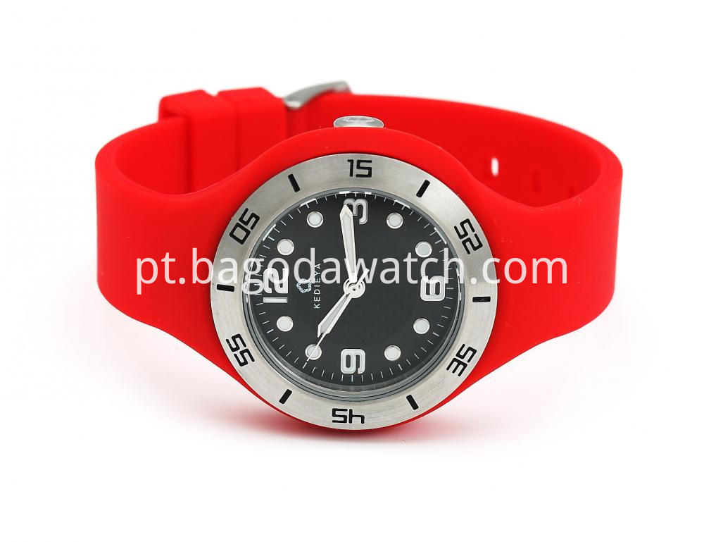 Rubber Watches For Women