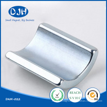 Dajinhua Tile Shaped Permanent NdFeB Moto Magnet
