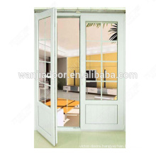 3 panel triple pvc casement window