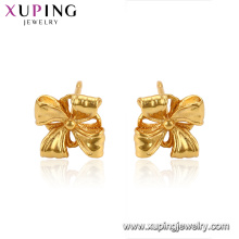 96078 Xuping jewelry 24K gold Plated Simple stud earrings for women