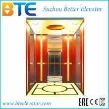 Ce Mrl 1600kg Bonne décoration Passenger Lift