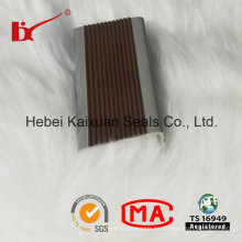 L-Form-Treppen-Kanten-rutschfester PVC-Einsatz-Streifen