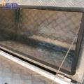 Caja de herramientas de aluminio impermeable modificada para requisitos particulares del camión Tamaño Caja de herramientas de aluminio modificada para requisitos particulares del camión de Warterproof