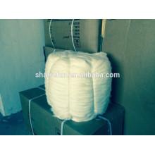 El conejo chino de alta calidad del angora remata blanco 15.0MIC / 45MM