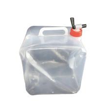 Recipiente de agua material PE que dobla el tanque de polietileno suave