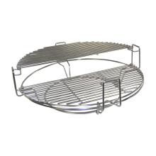 Versatile Stainless Steel BBQ tool Grid Kamado Accessories Divide and Conquer