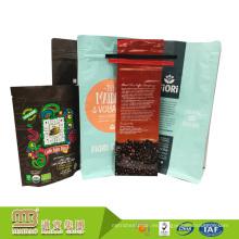Bolso de café impreso en caliente del papel de aluminio de la categoría alimenticia de la muestra libre que empaqueta con la válvula o el lazo de la lata