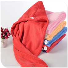 Set Bamboo Fiber Hair Towel Wrap Oem