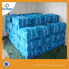 120g round wire blue shade net rolls used fencing for sale,blue screen