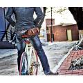 Vintage Cycle Bike Sac de vélo / Multipurpose avant ou sac à dos Sacs à bandoulière à queue arrière Tweed Run Solute for Brooks