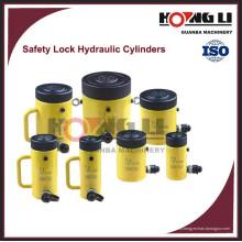 Cilindros hidráulicos de la contratuerca de seguridad HL-LS con precio de fábrica, hechos en China