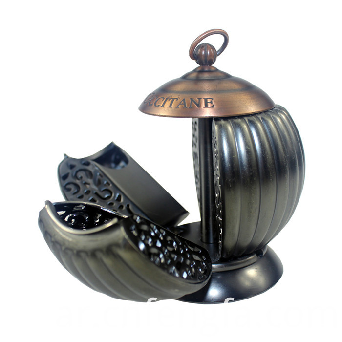 Hot selling zinc alloy incense burner