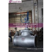 Pn25 Pn64 Wcb Flansch Globe Ventil