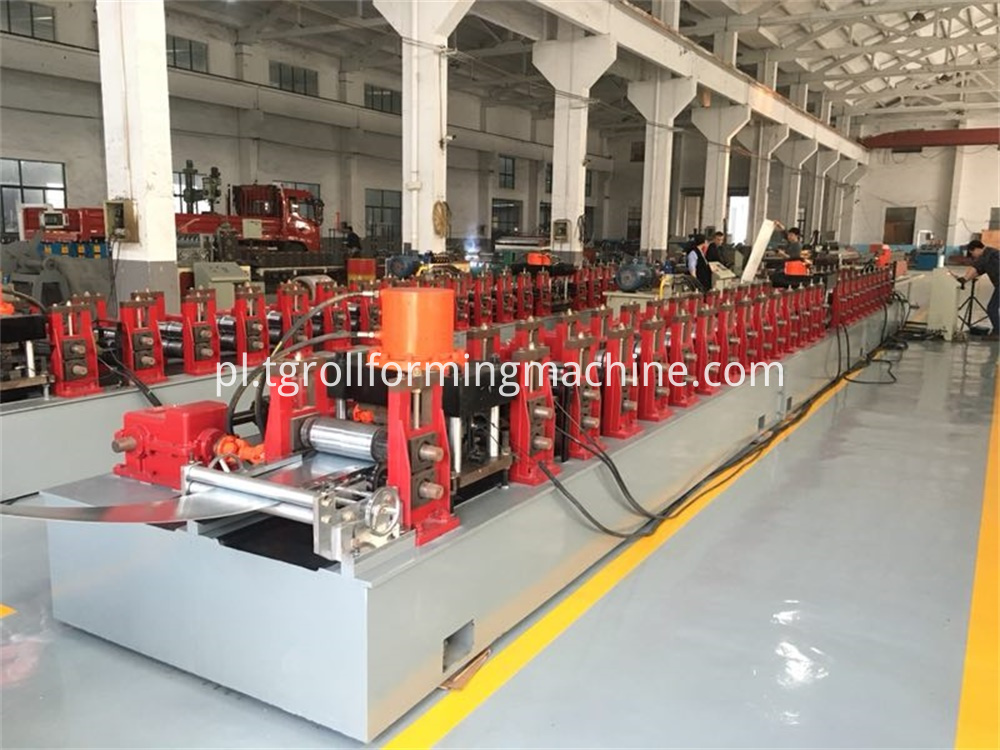 Steel Door Frame Roll Forming Line