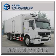 20t 25t Sinotruk-HOWO 6 * 4 Camión refrigerado pesado