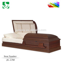 JS-A785 bienvenida entierro ataúd en América