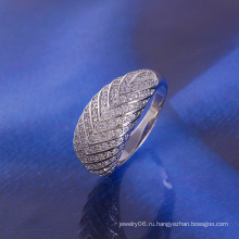 Кольцо с роскошным родием
