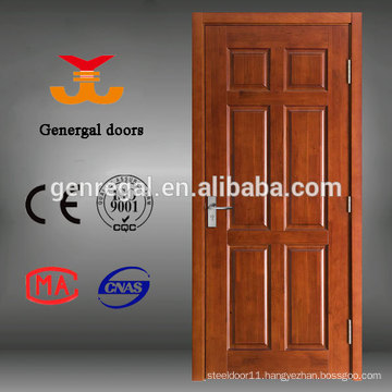 Natural CE painted Sapele Surface finishing Wood Door