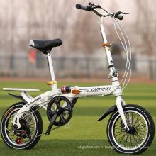 Nouveau style vélo pliant de 20 pouces / vélo pliable avec la jante de roue en aluminium