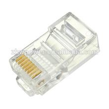 China fornecimento 8p8c cat6 RJ45 conector, rede rj45, rj45 plug cat6 Modular cabo cabeça