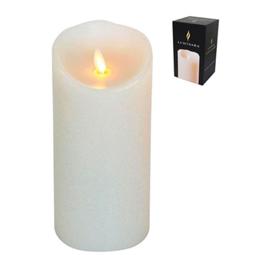 moving wick led wax candles