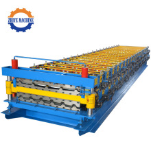 Steel Coil Double Layer Roller Former Equipment