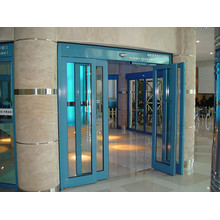 Automatic Sliding Doors for Access Partitions
