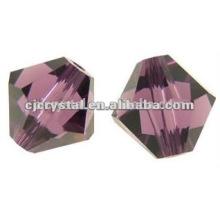 Unique wholesale beads,bicone glass bead
