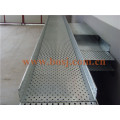 Gi HDG PC Outdoor Perforierte Kabelrinne mit Wand Mouting Brackets Roll Forming Making Machine Philippinen
