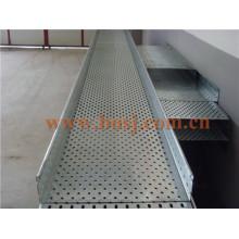 Línea del cable de la bandeja de cable de servicio pesado Máquina de fabricación del rodillo de la fábrica del OEM que hace la máquina Tailandia