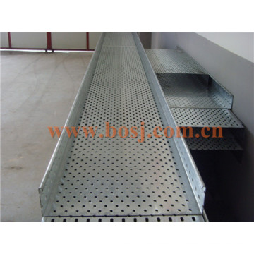 Heavy Duty Cable Tray Cable Ladder OEM Factory Roll Forming Making Machine Thailand