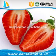 Neue Jahreszeit A Grade Gefrorene IQF Früchte Scheibe Erdbeere