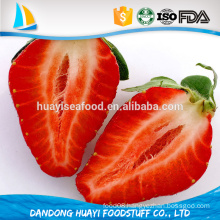 china supplier bulk iqf frozen strawberry