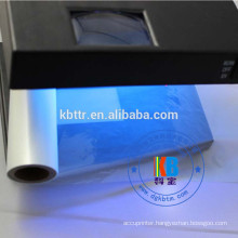 printer ribbon feature security uv blue barcode ribbon