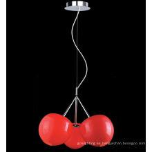 Lámpara pendiente de cristal de cereza de la venta caliente de calidad superior moderna. (MD4045 - 3R)