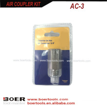 Air Quick Coupler blister card packed