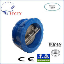 Skillful manufacture 2 1/2 inch ductile iron rubber disc check valve