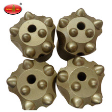 Batu Bit Carbon Steel Carbide Button Button Threaded