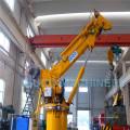 Guindaste industrial de elevação telescópica hidráulica com lança