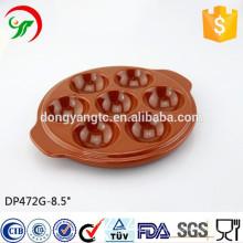 bandeja cerâmica do ovo da cor, placa do ovo, fábrica feito-à-medida, perfumes à moda