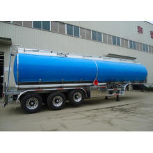 Best Quality for Aluminum Fuel Tanker Truck 3 axle Saudi-Aramco fuel tanker semi-trailer export to Rwanda Factories